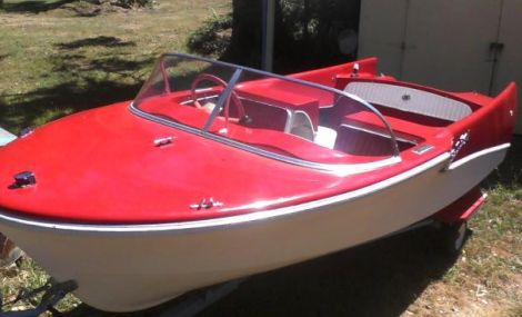 Used Bell Boy Banshee Boats For Sale by owner | 1957 14 foot Bell Boy Banshee